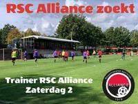 Vacature trainer RSC Alliance Zaterdag 2