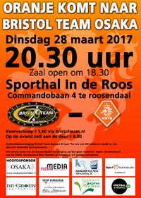 Futsal toppers Oranje komen naar Roosendaal