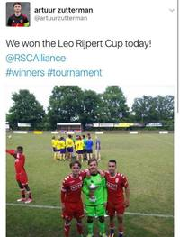 Geslaagde editie Leo Rijpert Cup op sportpark Kortendijk