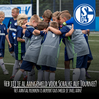 Meld je snel aan voor Schalke 04 auf Tournee