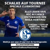 Unieke kortingsactie Schalke '04 auf tournee