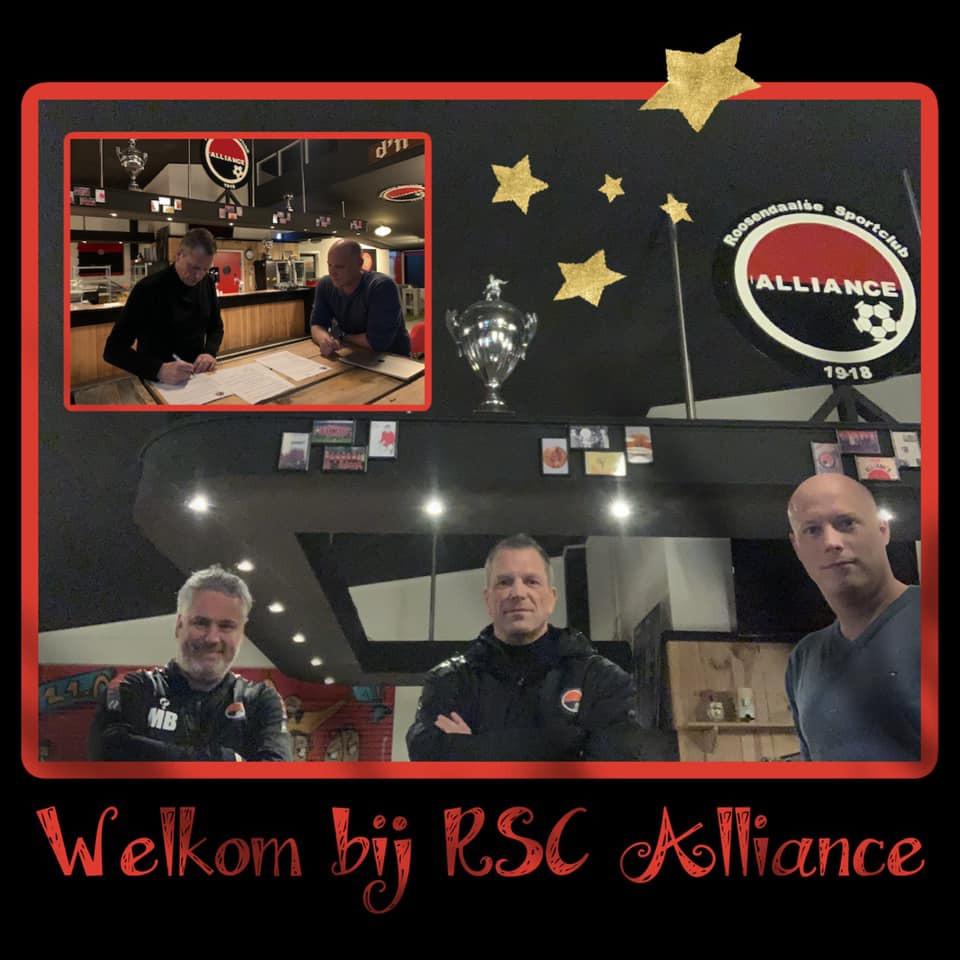 Marco Klijs nieuwe hoofdtrainer RSC Alliance