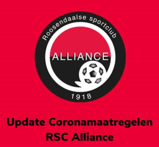 UPDATE CORONAMAATREGELEN BINNEN ALLIANCE