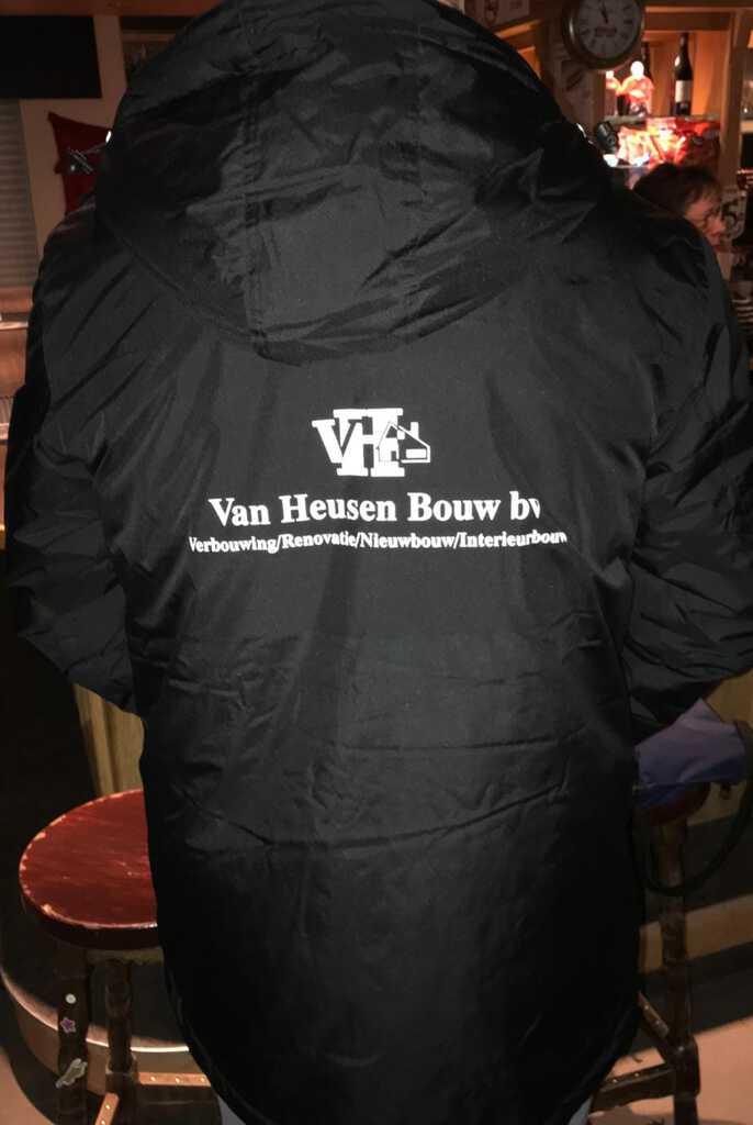 Winterjassen voor trainers en leiders van RSC Alliance