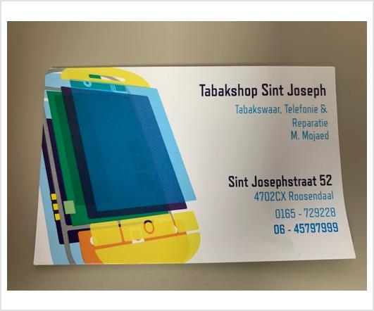 Tabakshop Sint Joseph